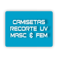 CAMISETAS COM RECORTE UV